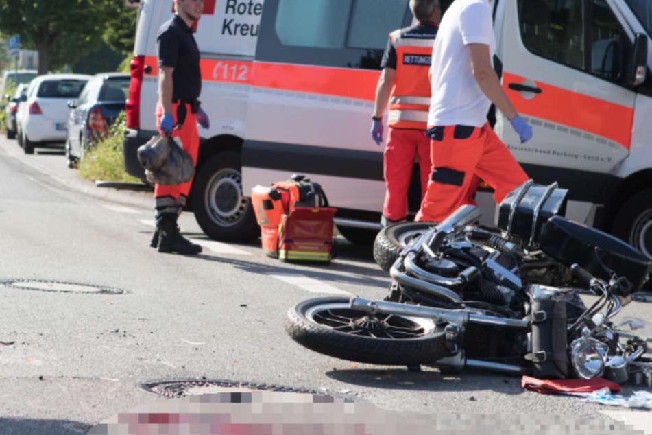 Die Rettungskräfte konnten dem Mann nicht mehr helfen.