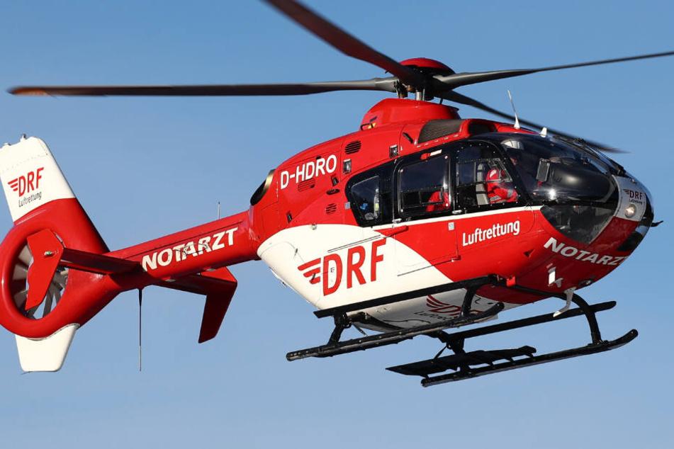 Fremdteile im Rotor! Rettungshubschrauber sorgt für Vollsperrung auf der A38