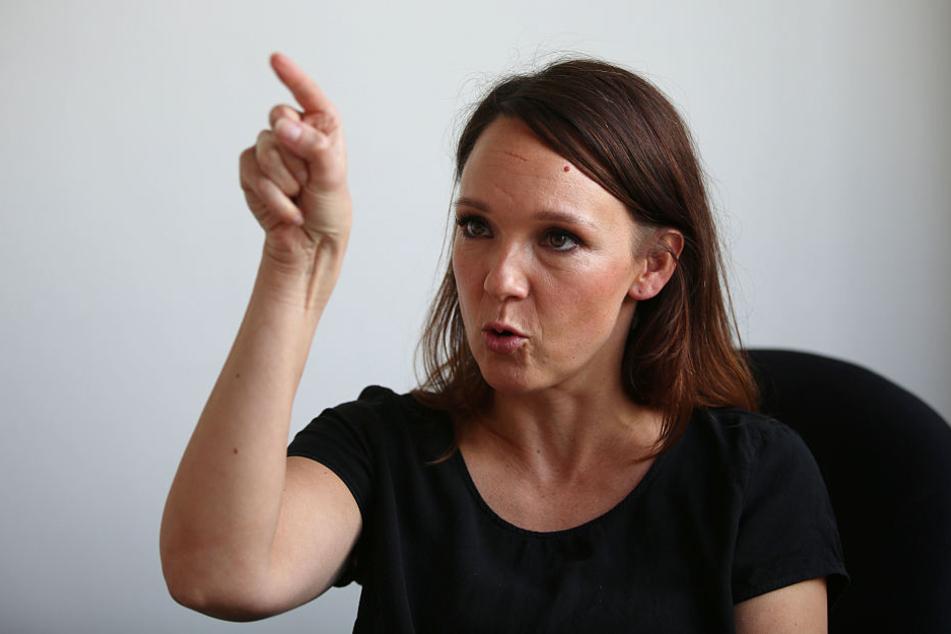 Carolin Kebekus (38) ist eine der wenigen erfolgreichen Frauen in der deutschen Comedy-Szene.