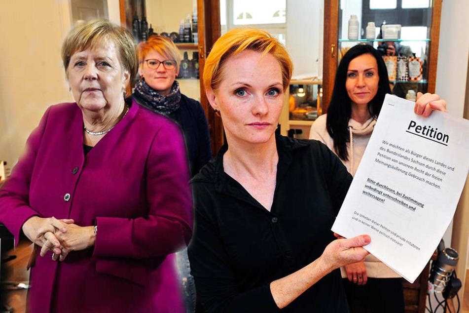 Darum fordert Marienberger Friseurin Kanzlerin Merkel heraus