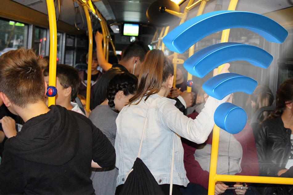 Auch in den Gütersloher Schulbussen soll es in naher Zukunft WLAN geben.