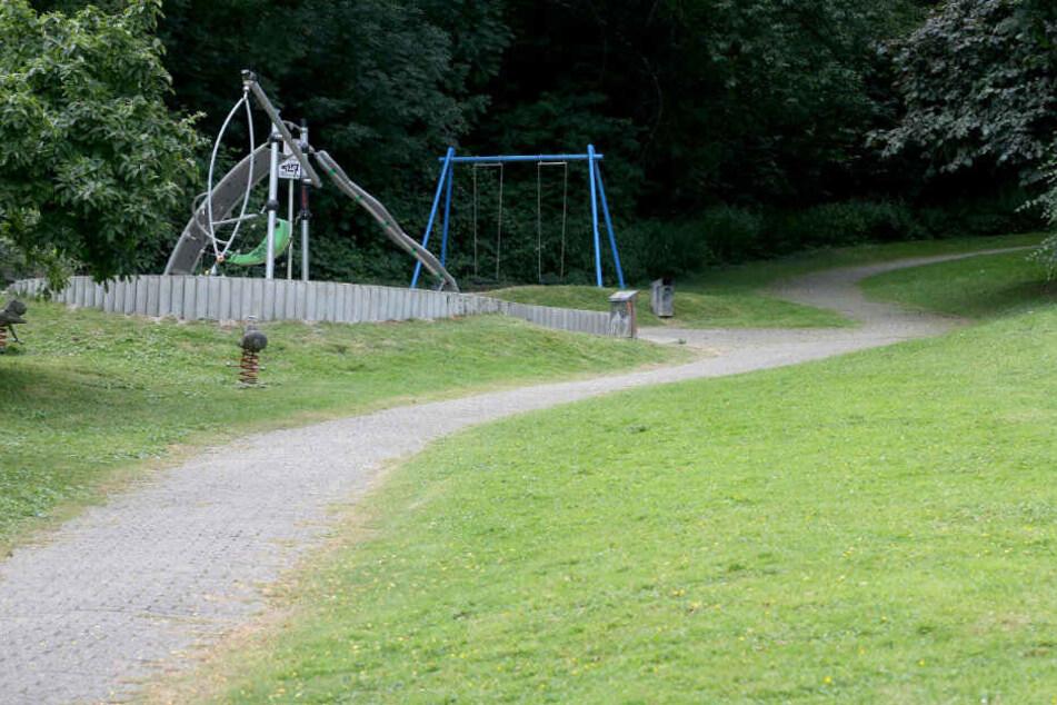Auf diesem Spielplatz kam es im Juli zu einer schweren Vergewaltigung.