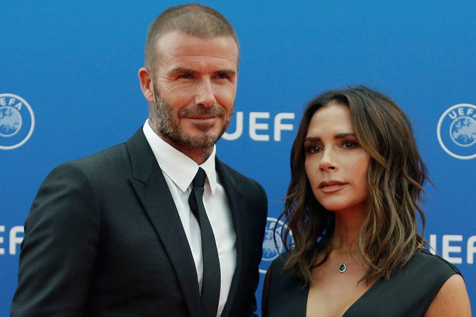 David und Victoria Beckham sind seit 19 Jahren verheiratet. Sie haben vier Kinder.