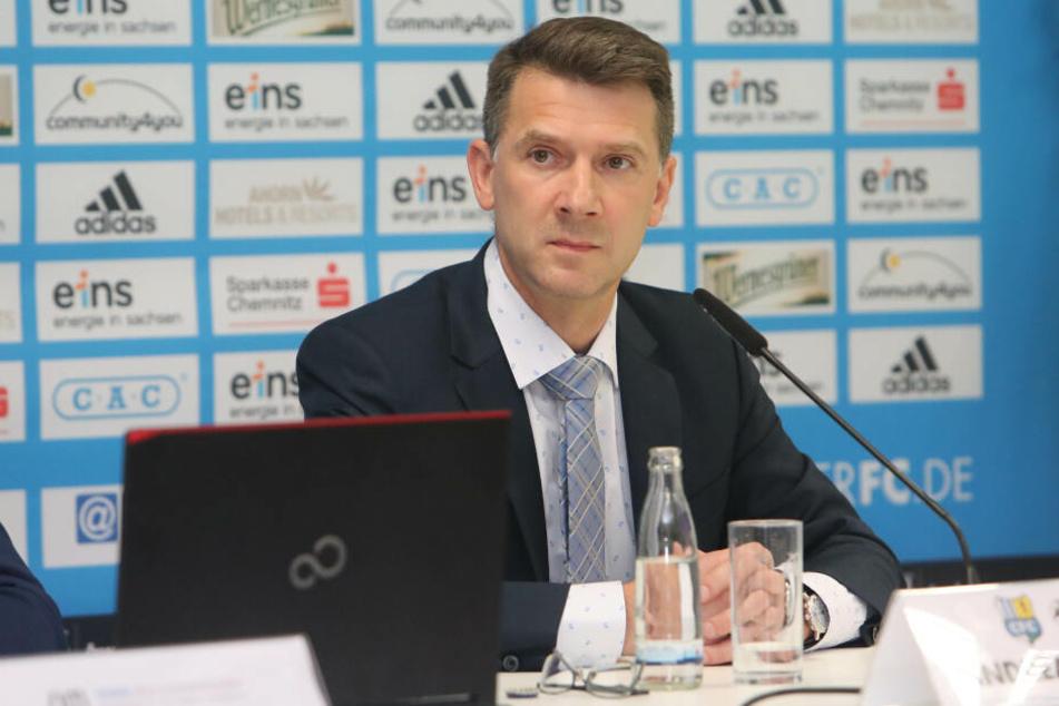 CFC-Notvorstand Andreas Georgi.