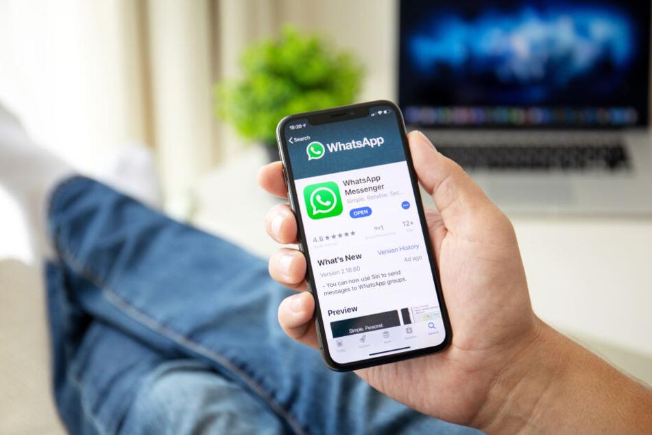 Das neue WhatsApp-Update kann bedenkenlos installiert werden (Symbolbild).