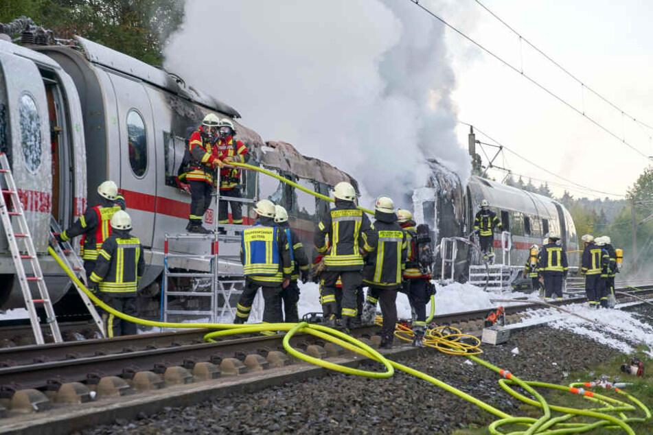 Feuer-ICE zwischen Köln und Frankfurt: Auch am Wochenende droht Chaos