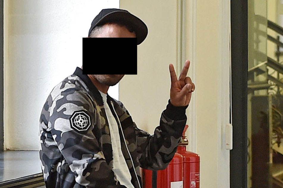 Mohamed L. (32) erklärte dem Richter, er sei Opfer der Polizei geworden