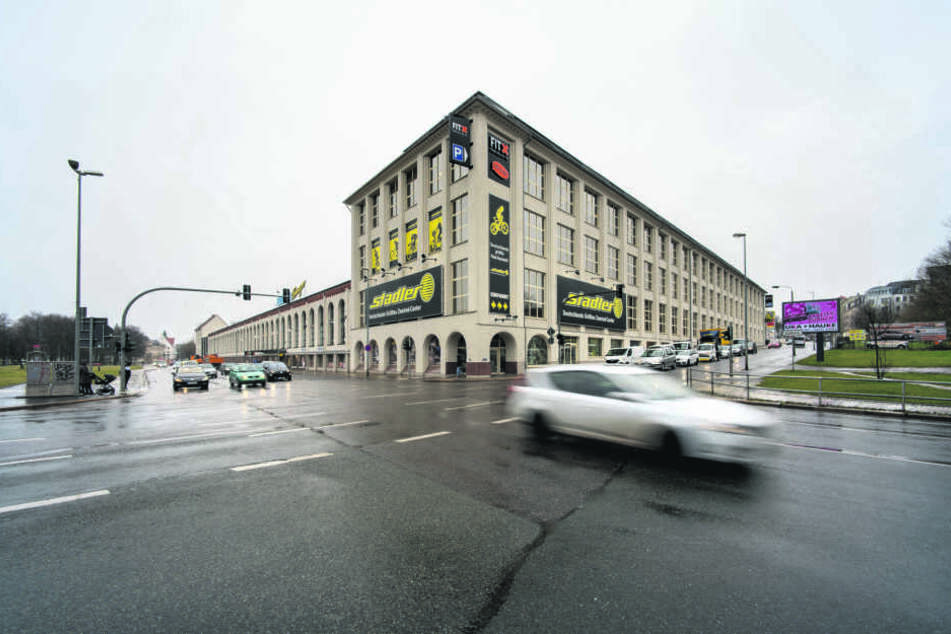Von der Kreuzung Hartmannstraße/Leipziger Straße aus soll die neue Trasse weiter bis zur Stadthalle führen.