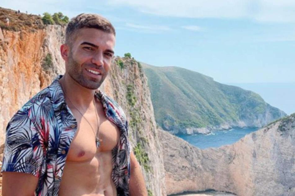 Der Kuss mit Südländer Rafi Rachek (29) war echt.