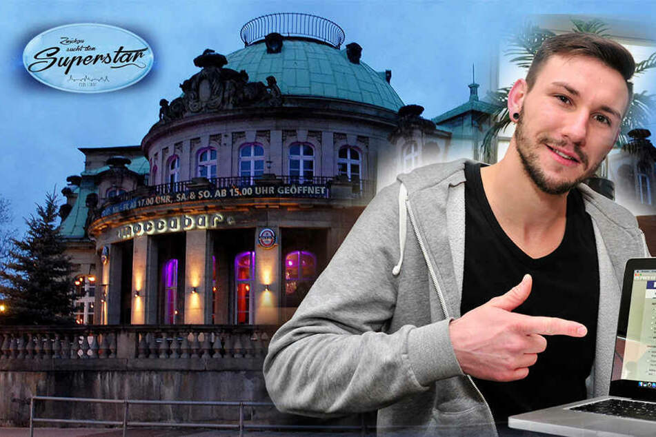 """Dieser Rapper macht aus Zwickau eine """"DSDS""""-Bühne"""