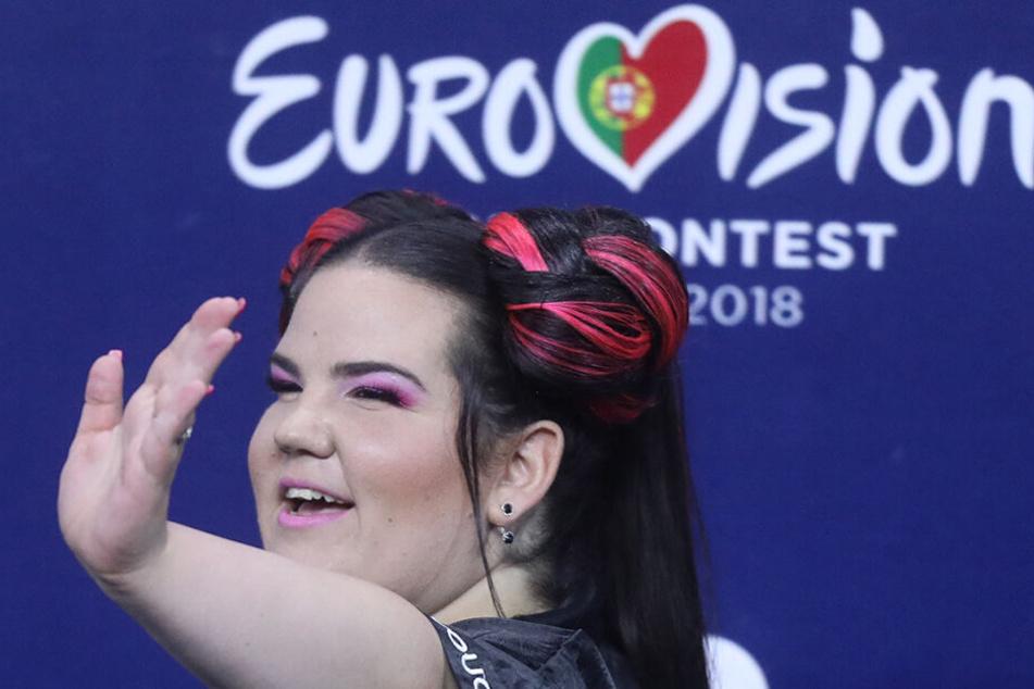 """Die israelische Sängerin Netta hatte im Mai 2018 mit ihrem Song """"Toy"""" den ESC gewonnen."""