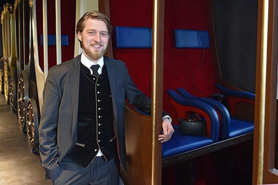 Er hatte die Idee zu dem Projekt: Jonas Rothe (32), Geschäftsführer der Münchner Firma TimeRide.