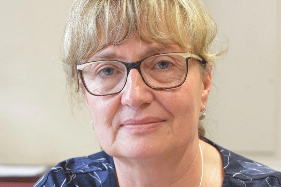Andrea Beres (58) von der Wirtschaftsförderung würde das Crimmitschau-Center  in ein Industrie- und Gewerbegebiet umwandeln.