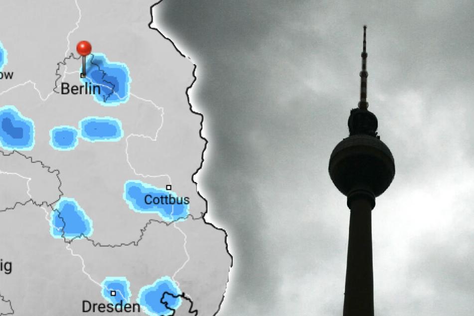 Wochenende mit Gewitter: Leichte Erfrischung für Berlin und Brandenburg