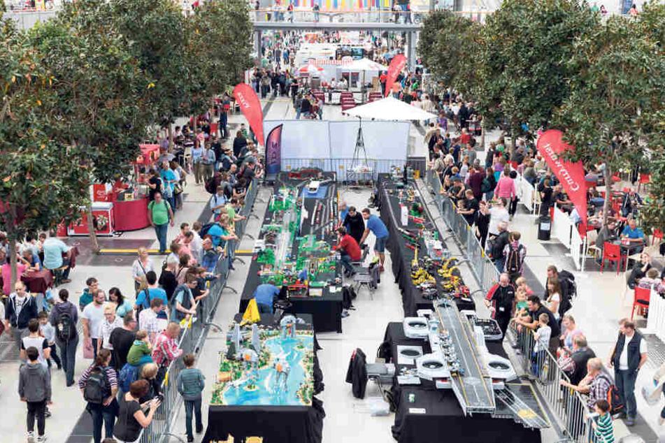 Die Hobbymesse lädt vom 5. bis 8. Oktober auf dem Gelände der Neuen Messe in Leipzig statt.