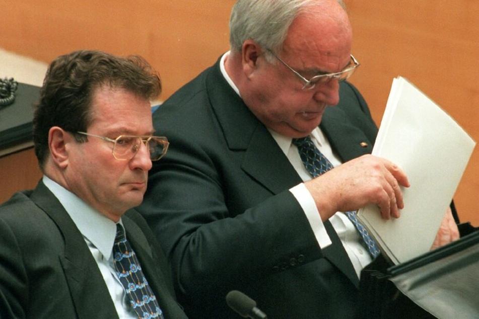 Klaus Kinkel war unter Kanzler Kohl von 1992 bis 1998 Außenminister.