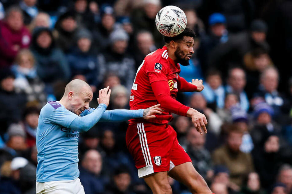 Manchester City bezwang den FC Fulham problemloser, als es dieses Bild vermuten lassen würde.