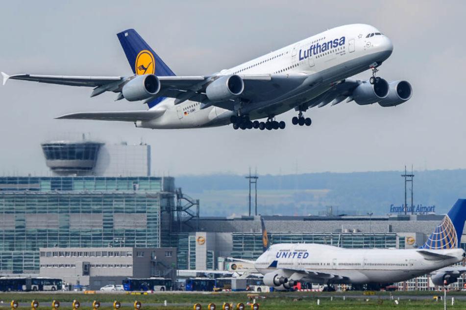 Am Sonntag sollen zwei Maschinen aus Frankfurt starten, eine weitere aus München.