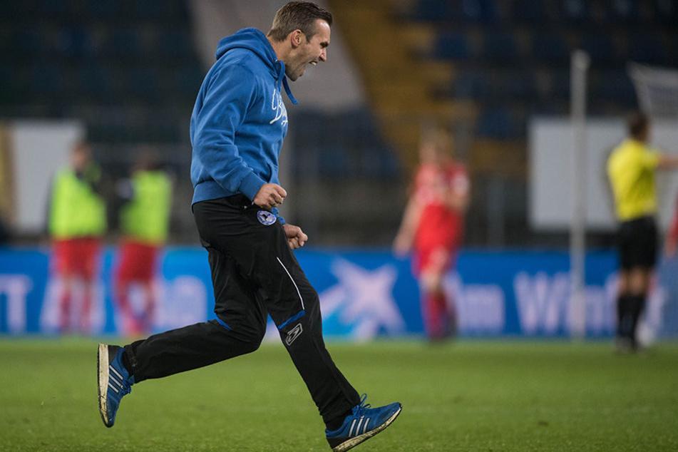 Carsten Rump (35) hat großen Anteil am Erfolg des DSC gegen Kaiserslautern am Freitag.