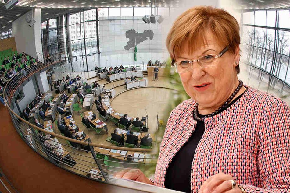 Stühlerücken in Sachsen, aber sie will nicht in den Landtag