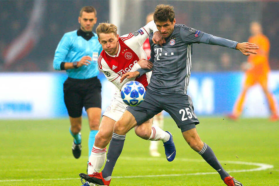 Für 75 Millionen Euro: Barcelona angelt sich Ajax-Star de Jong