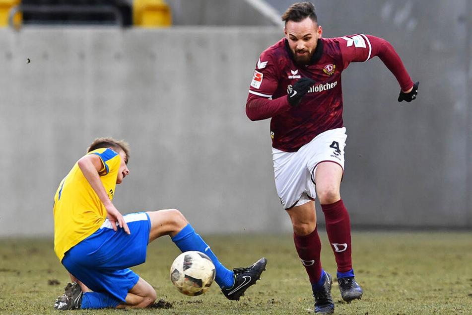 Giuliano Modica (r.) rackert und kämpft fortan für den 1. FSV Mainz 05 II in der Regionalliga Südwest.
