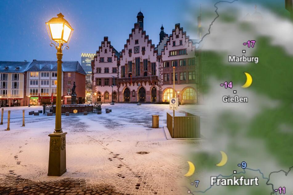 Bis zu minus 18 Grad: Es bleibt eisig kalt in Hessen