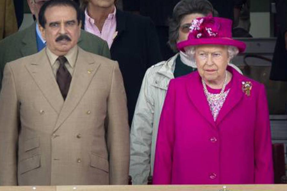 Das Königshaus von Bahrain pflegt eine gute Beziehung zu den britischen Royals.