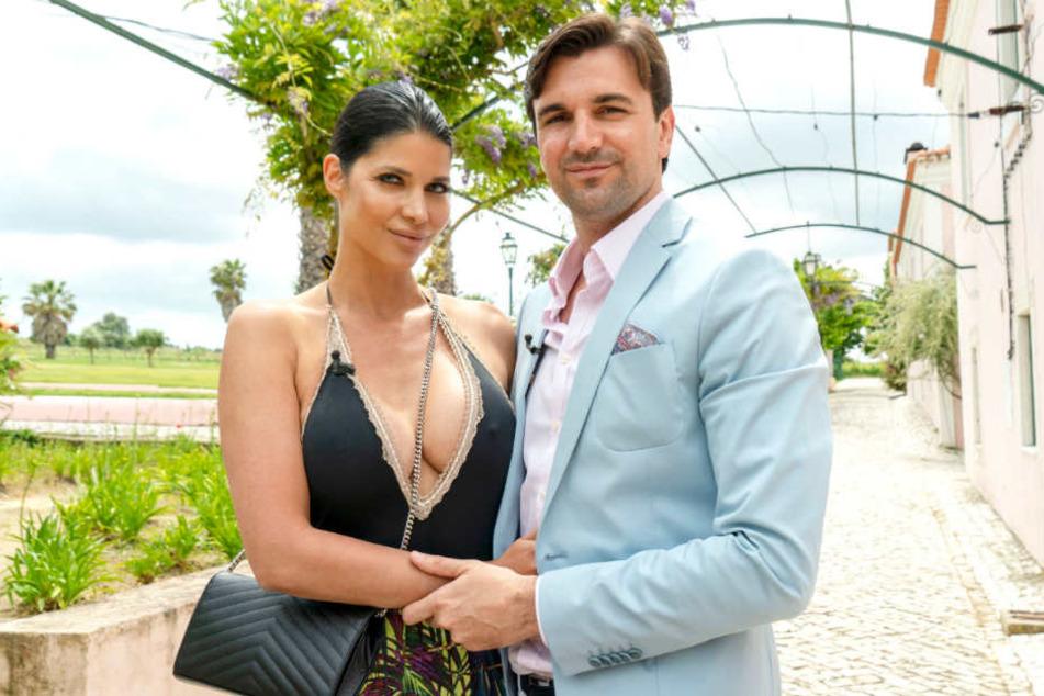 """Micaela Schäfer (34) zieht mit ihrem Freund Felix Steiner (32) ins """"Sommerhaus der Stars""""."""