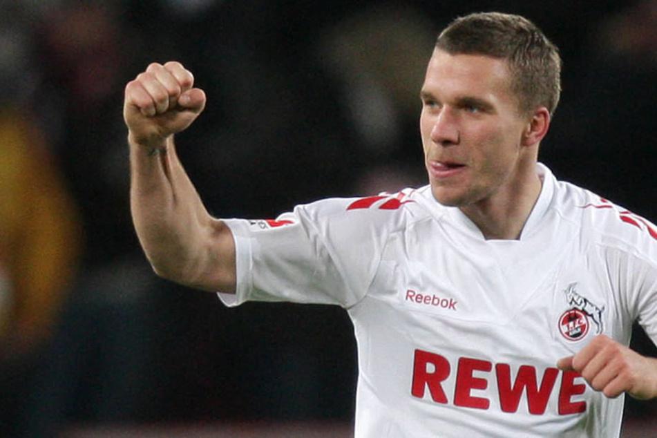 Lukas Podolski: Vielleicht bald wieder im FC-Trikot am Ball.