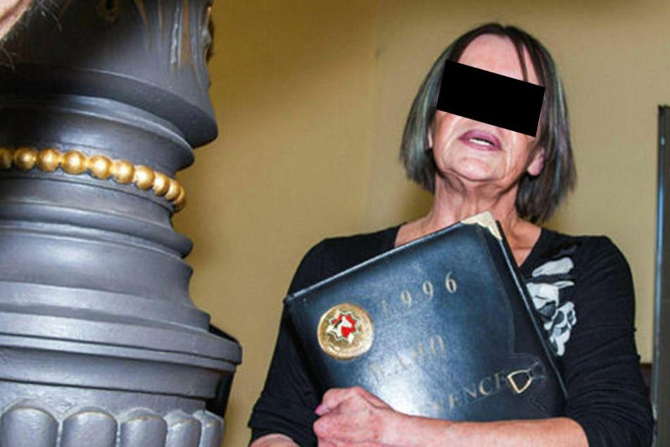 """Scheiterte mit ihrer Berufung vor Gericht: """"Reichsbürgerin"""" Birgit F. aus Zwickau."""