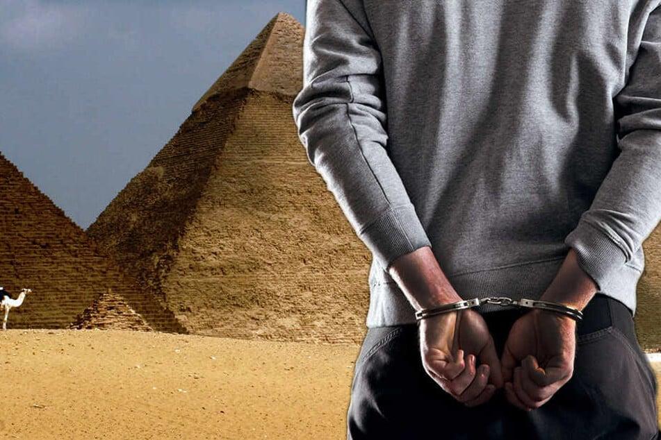 Der Deutsche mit ägyptischen Wurzeln wurde in Kairo geschnappt. (Bildmontage)