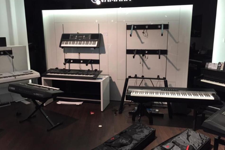 Akkordeons im Wert von 25.000 Euro gestohlen: Einbruch in Leipziger Piano Centrum