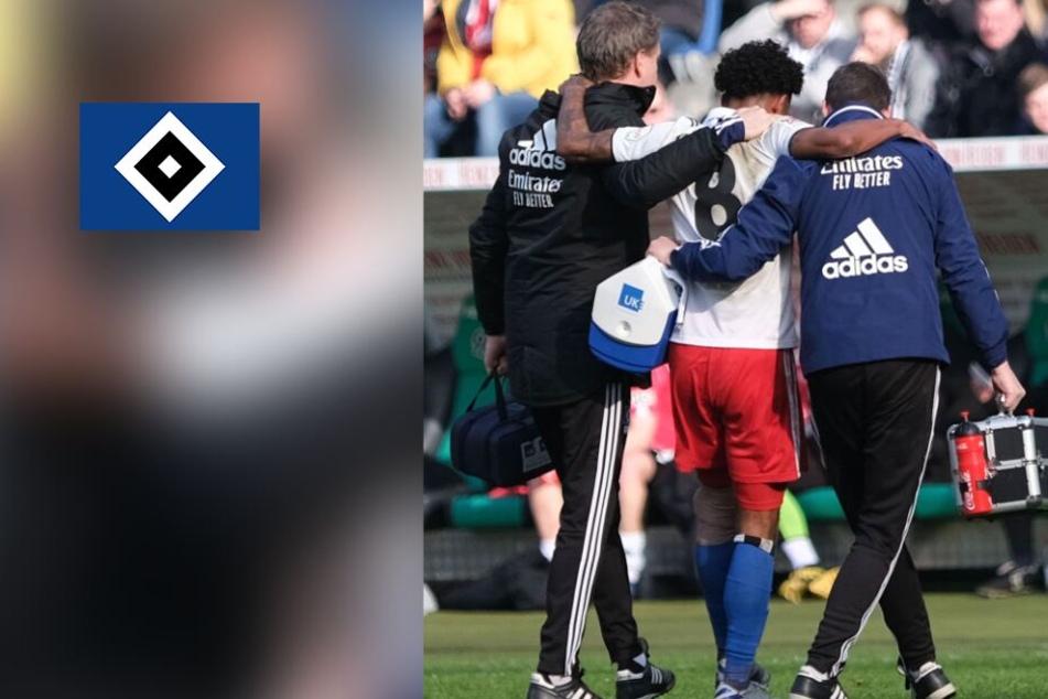 HSV-Profi Jeremy Dudziak im Nordderby verletzt: Diagnose steht fest!
