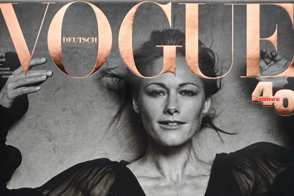 """Super-Star Helene Fischer posierte für das Mode-Magazin """"Vogue""""."""