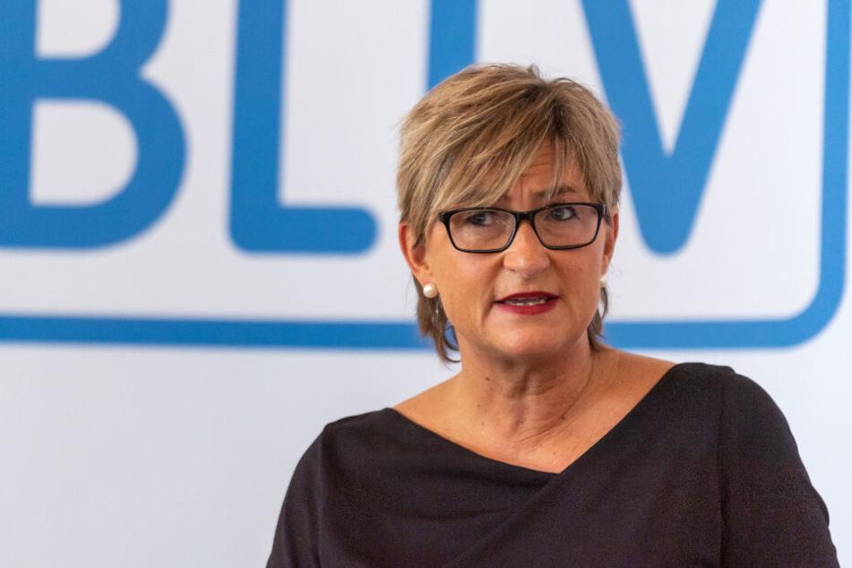 BLLV-Präsidentin Simone Fleischmann sieht die Bildungsqualität in Bayern gefährdet.