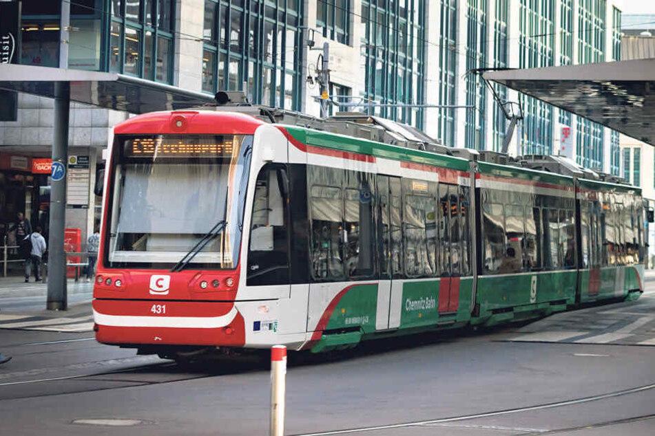 Bis voraussichtlich Mitte August kommt es zu Verspätungen auf dem Abschnitt Chemnitz/Zentralhaltestelle-Campus.