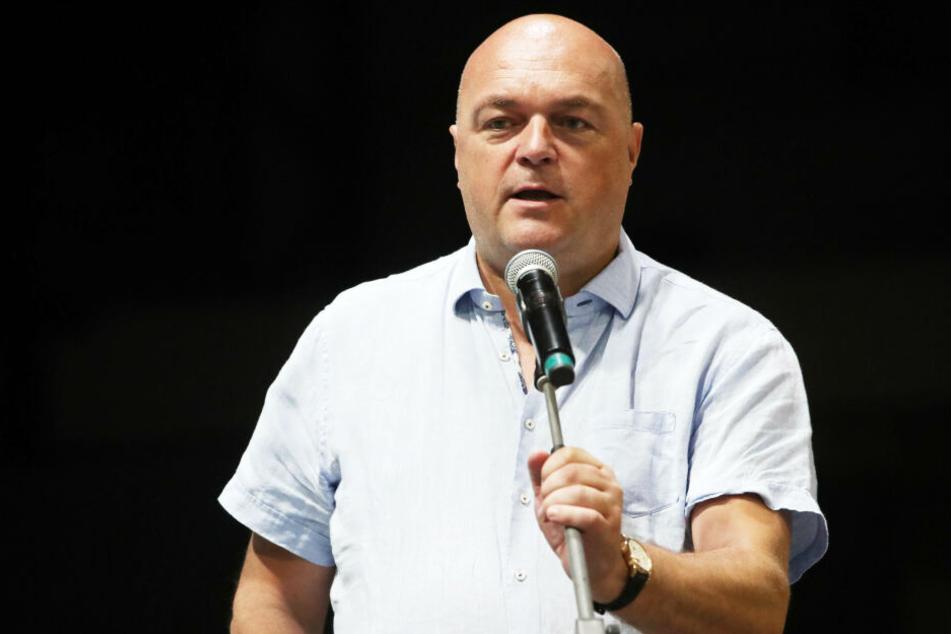 Olaf Pönisch hatte bei der letzten Versammlung in letzter Sekunde seine Kandidatur zurückgezogen