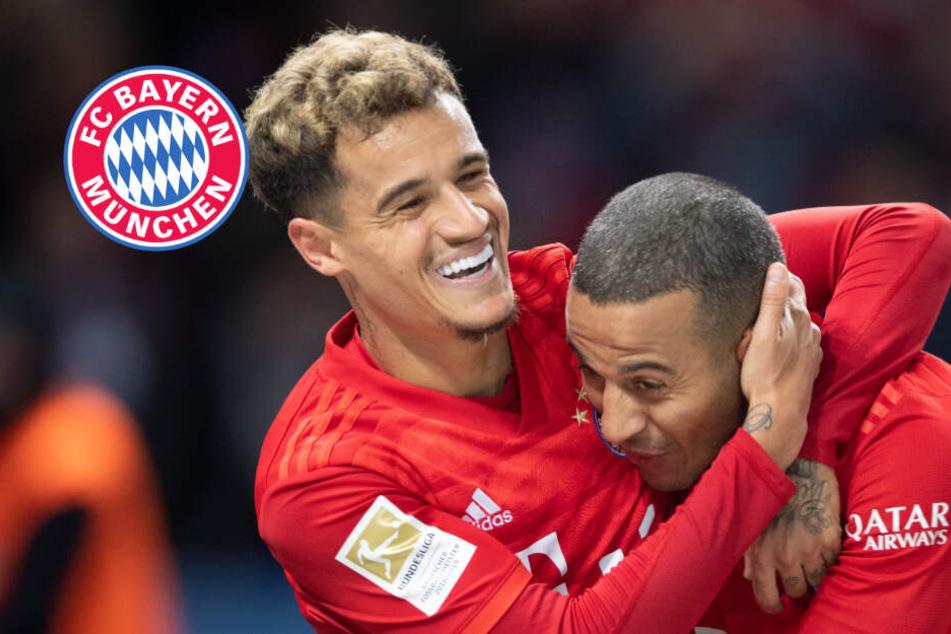 FC Bayern nach 4:0 gegen Hertha im Attacke-Modus: Klinsi verärgert über Elfmeter