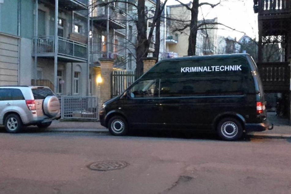 Am Montag führte eine Spur die Ermittler zu einem Mehrfamilienhaus an  der William-Zipperer-Straße.