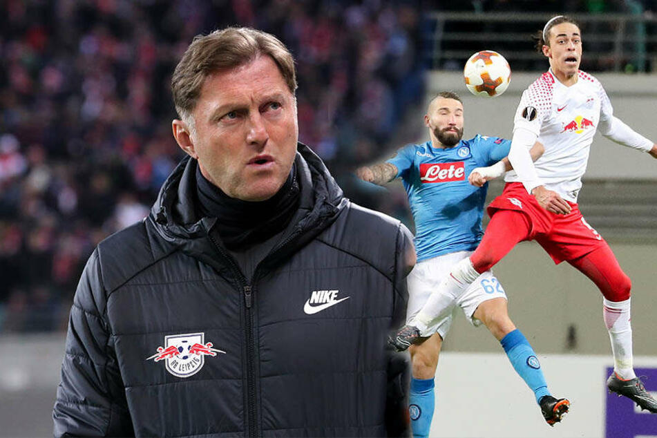 Durchatmen bei RB! Die Leipziger konnten sich daheim eine 0:2-Niederlage gegen den SSC Neapel erlauben, um dennoch ins Achtelfinale einzuziehen.