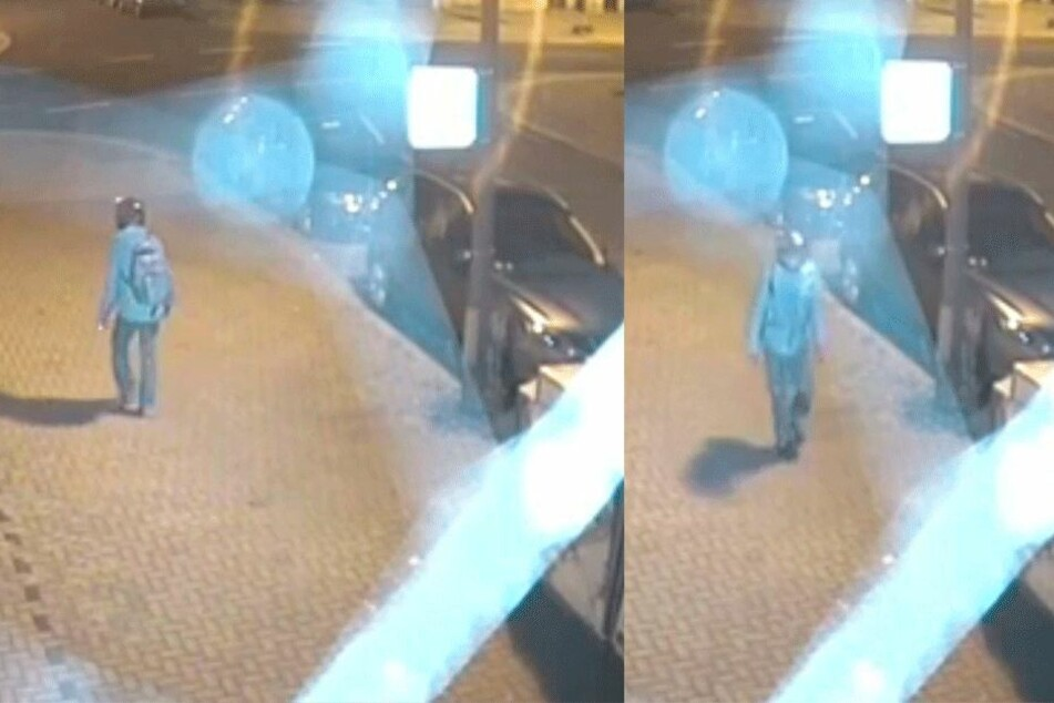 Aufnahmen von Überwachungskameras zeigten den mutmaßlichen Moschee-Bomber.