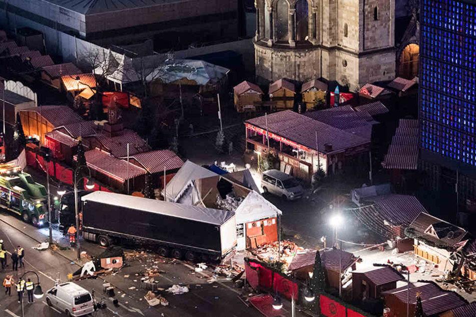 Könnten sich Anschläge, wie der am 19. Dezember auf dem Berliner Weihnachtsmarkt an der Gedächtniskirche schon bald wiederholen?