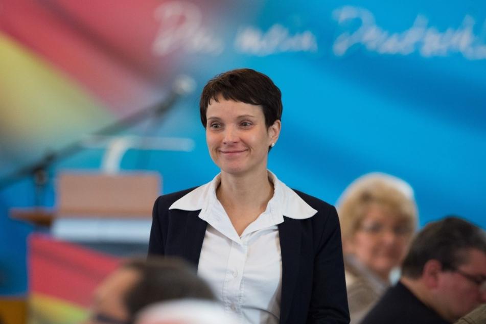 Zum Neujahrsempfang in Münster wird auch die Parteivorsitzende Frauke Petry erwartet.