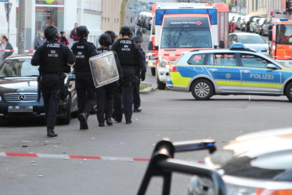 Spezialeinheit stürmt Wohnung eines Leipzigers: Das war der Grund