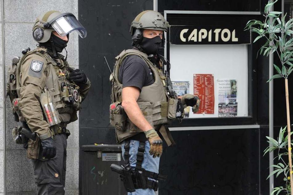 Spezialkräfte suchten nach dem Täter.