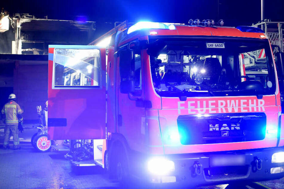 In der Nacht zu Montag wurde die Feuerwehr in den Leipziger Norden alarmiert. (Symbolbild)