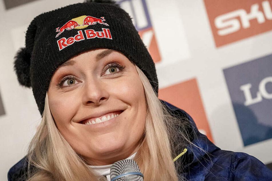Seit Jahren eine feste Konstante im alpinen Skisport: Lindsey Vonn (34).
