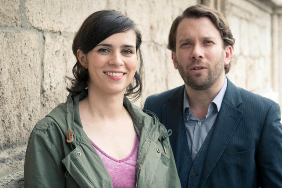 """Die """"Tatort""""-Kommissare Nora Tschirner und Christian Ulmen sind bereits seit Dezember Ehremitglieder der GdP."""