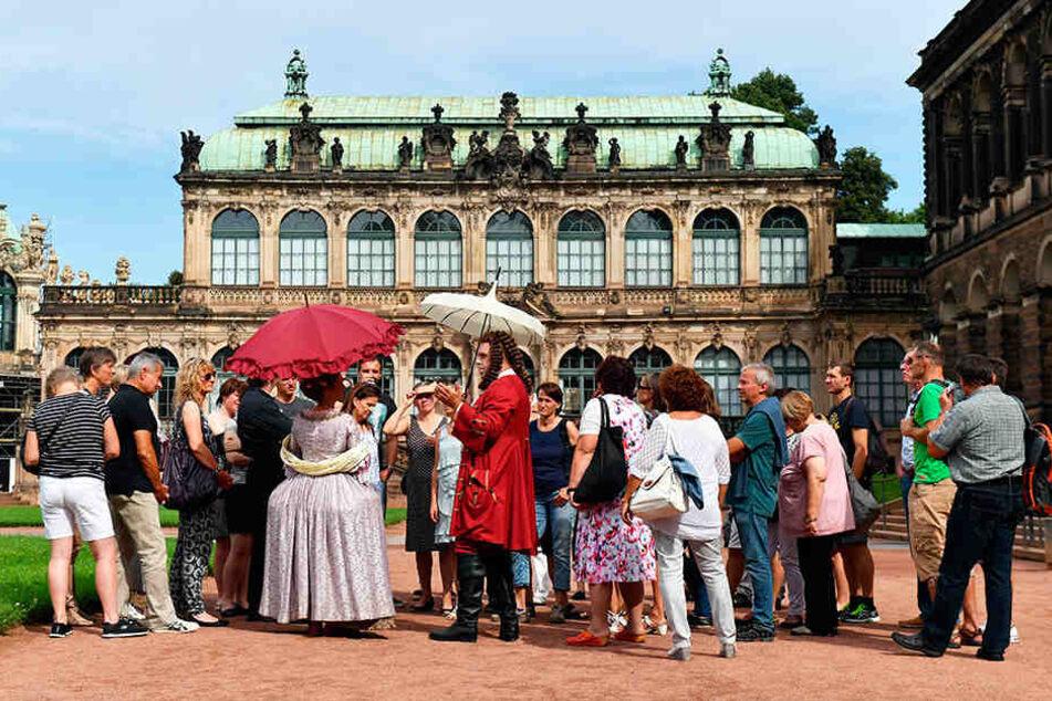 Der Tourismus in Sachsen bietet zehntausende Arbeitsplätze.